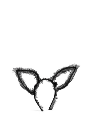 Figure View - Click To Enlarge - Maison Michel - 'Heidi' frayed tulle rabbit ear headband