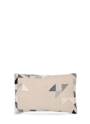 Back View - Click To Enlarge - NIKI JONES - Harlequin cushion