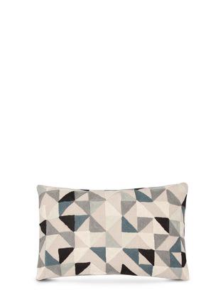 Main View - Click To Enlarge - NIKI JONES - Harlequin cushion