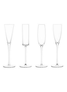 LSALULU玻璃香槟高脚杯套组