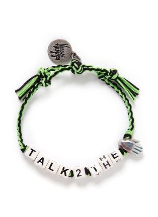 Main View - Click To Enlarge - Venessa Arizaga - 'Talk To The Hand' bracelet
