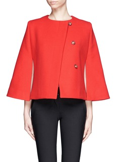 STELLA MCCARTNEYShort melton cape jacket