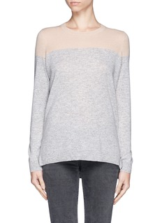 VINCE Colourblock cashmere sweater
