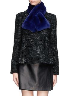 ARMANI COLLEZIONIRabbit fur scarf