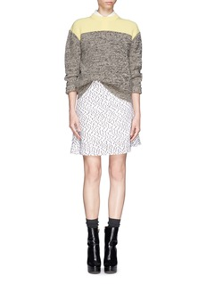 CHLOÉColourblock cashmere  sweater
