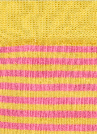 Detail View - Click To Enlarge - Happy Socks - Stripe half socks