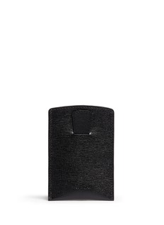 MARK CROSS Saffiano leather business card case