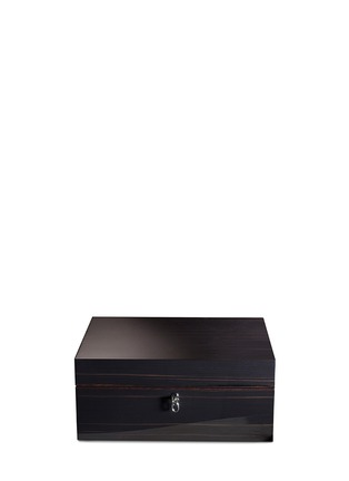Agresti-Ebony wood jewellery box