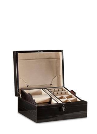 模特示范图 - 点击放大 - AGRESTI - 黑檀木珠宝收纳盒