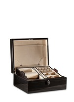Ebony wood jewellery box