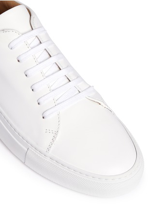 Detail View - Click To Enlarge - Common Projects - 'New Court' leather sneakers