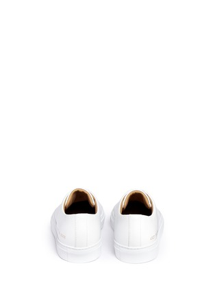 Back View - Click To Enlarge - Common Projects - 'New Court' leather sneakers