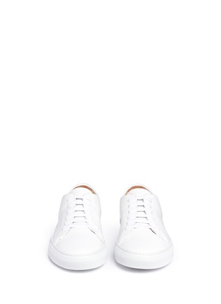 Front View - Click To Enlarge - Common Projects - 'New Court' leather sneakers
