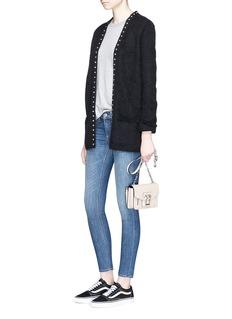 rag & bone/JEAN'Capri' technical denim jeans
