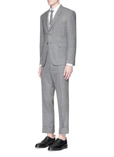 Thom BrowneWool hopsack suit