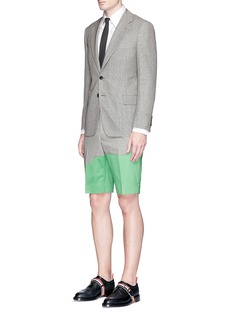 Thom Browne 'Beach Story' embroidered patchwork shorts