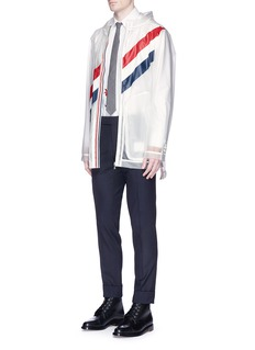 Thom Browne'Hector' appliqué cotton Oxford shirt