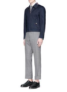 Thom BrowneCotton Mackintosh blouson jacket
