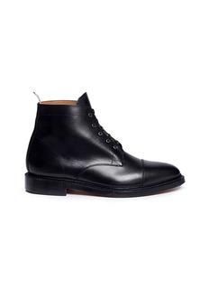 THOM BROWNE小牛皮高筒短靴