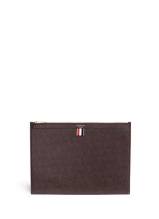 Thom BrowneMedium pebble grain leather document holder