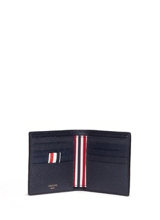 Thom BrownePebble grain leather bifold wallet
