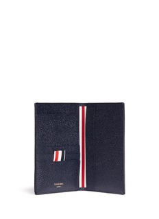 Thom Browne Pebble grain leather passport holder