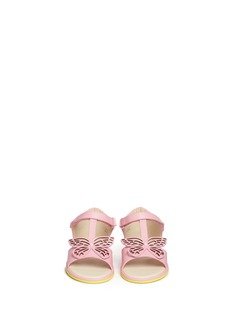 Sophia Webster 'Flutterby' butterfly leather toddler sandals