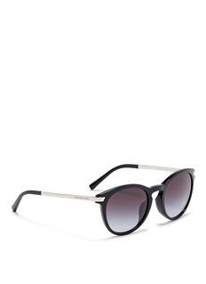 Michael Kors'Adrianna III' keyhole bridge acetate round sunglasses
