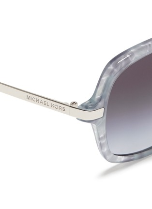 Detail View - Click To Enlarge - Michael Kors - 'Adrianna II' tortoiseshell acetate square sunglasses