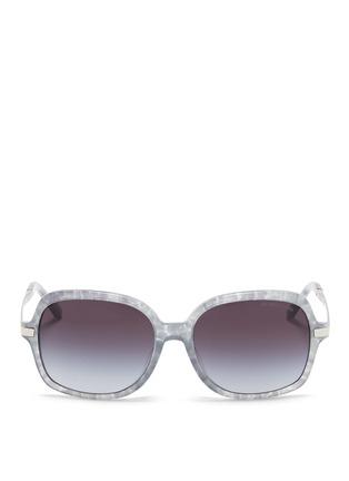 Main View - Click To Enlarge - Michael Kors - 'Adrianna II' tortoiseshell acetate square sunglasses