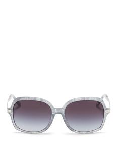 Michael Kors'Adrianna II' tortoiseshell acetate square sunglasses