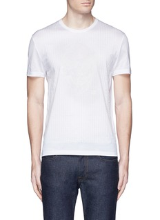 Alexander McQueen Skull stitch embroidery T-shirt