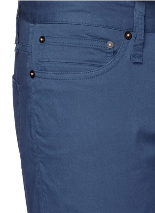Detail View - Click To Enlarge - Denham - 'Razor' cotton shorts