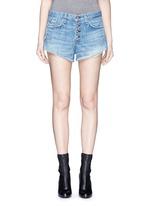 'Marilyn Fly' denim shorts