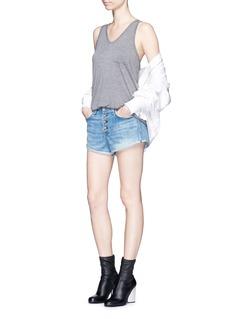 rag & bone/JEAN'Marilyn Fly' denim shorts