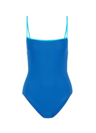 Araks - 'Kenley' cutout grid back one-piece swimsuit