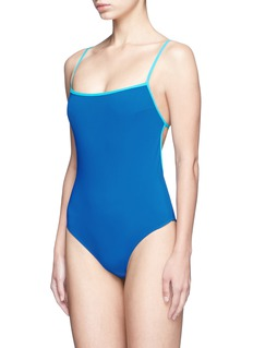 Araks 'Kenley' cutout grid back one-piece swimsuit