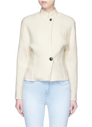 Main View - Click To Enlarge - Isabel Marant - 'Linda' high collar virgin wool jacket