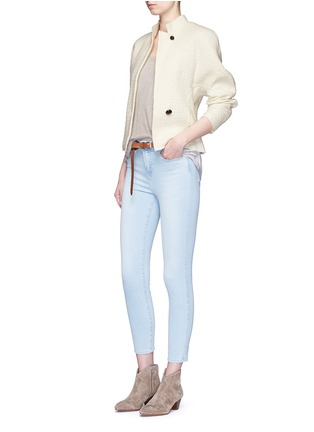 Figure View - Click To Enlarge - Isabel Marant - 'Linda' high collar virgin wool jacket