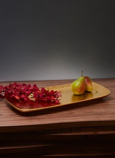 L'Objet Alchimie medium rectangle platter