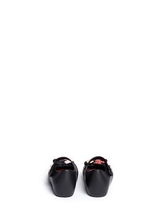 背面 - 点击放大 - MELISSA - 幼儿款卡通老鼠拼贴果冻鞋