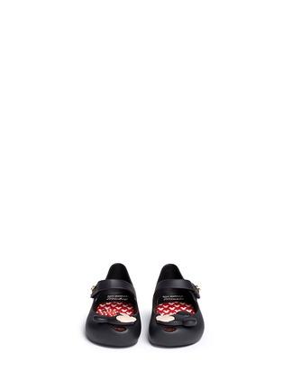 模特儿示范图 - 点击放大 - MELISSA - 幼儿款卡通老鼠拼贴果冻鞋
