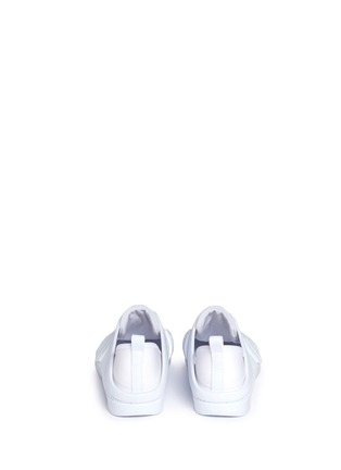 Back View - Click To Enlarge - Melissa - 'Love System Now' neoprene perforated PVC sneakers