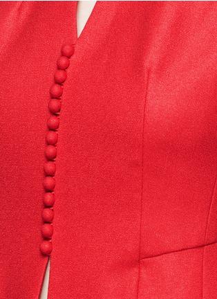 细节 - 点击放大 - ANIRAC - 钮扣缀饰羊毛背心