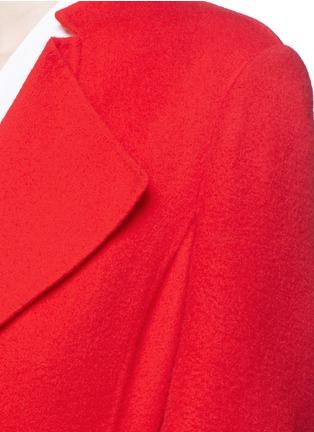 细节 - 点击放大 - ANIRAC - 羊毛混羊绒长款大衣
