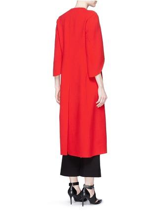背面 - 点击放大 - ANIRAC - 羊毛混羊绒长款大衣