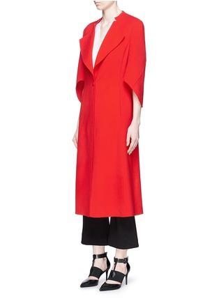 正面 -点击放大 - ANIRAC - 羊毛混羊绒长款大衣