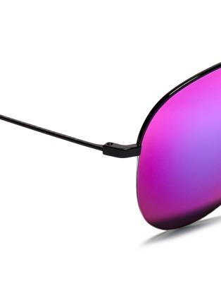 细节 - 点击放大 - VICTORIA BECKHAM - Classic镜面飞行员太阳眼镜