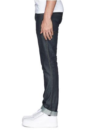 Acne Studios-'Max Raw' cotton slim fit jeans