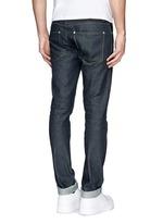 'Max Raw' cotton slim fit jeans